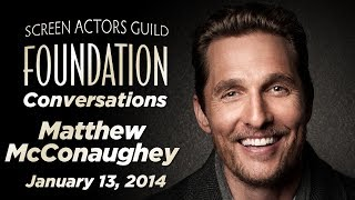 Conversations With Matthew McConaughey