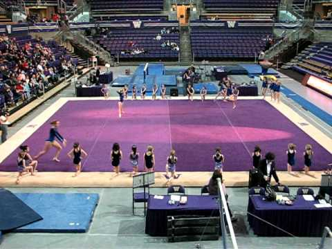 Girls Gymnastics Routine - YouTube