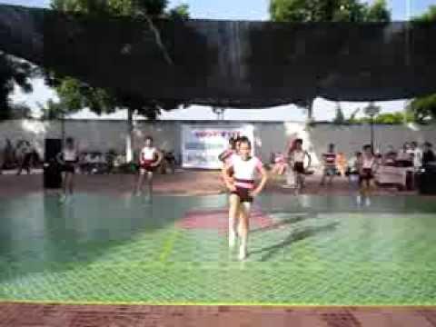 Nhảy erobic trường THCS Trung Hiếu