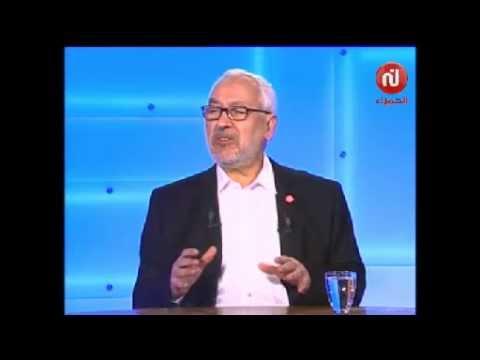 راشد الغنوشي و علاقته بالباجي قائد السبسي رئيس حركة نداء تونس