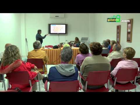 La Casa del Mayor de Gines acogió una charla preparatoria al Camino de Santiago