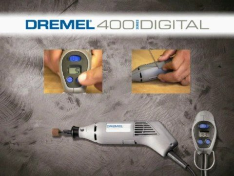 dremel 400 series digital youtube. Black Bedroom Furniture Sets. Home Design Ideas