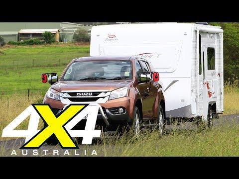 2017 Isuzu MU-X LS-T Tow Test Review   4X4 Australia