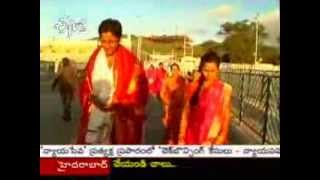 Newly Married Couple Visited Tirumala With Balakrishna