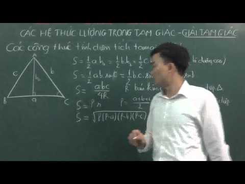 Công Thức tính diện tích tam giác[http://ontoan.vn/]