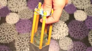 Rainbow Loom: Hexafish Rubber Band Bracelet Using Easy