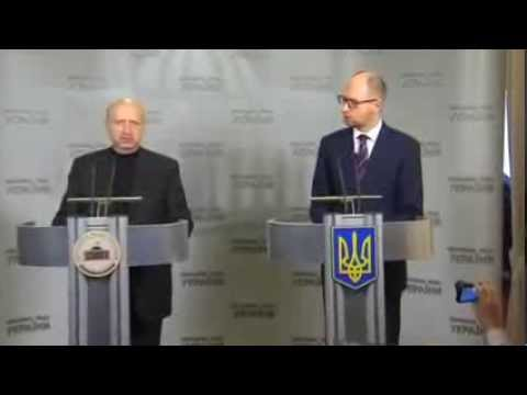 Ukraine's new PM calls Putin's plan a