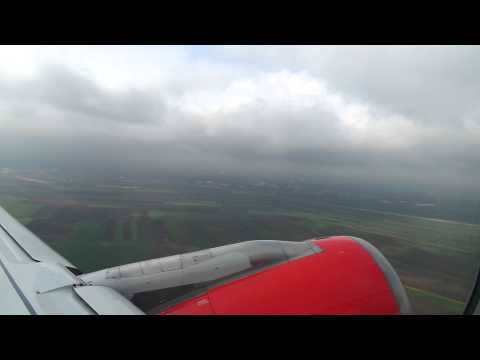 Air Serbia Airbus A320-232 (YU-APH) Take Off from Belgrade [LYBE] Nikola Tesla, Serbia