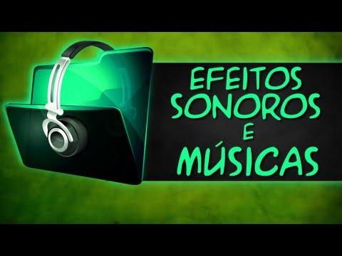 Músicas sem Direitos Autorais e Efeitos Sonoros grátis