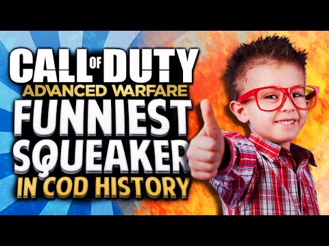 Advanced Warfare - The Funniest Badass Squeaker in COD History!! (Advanced Warfare Funny Moments)