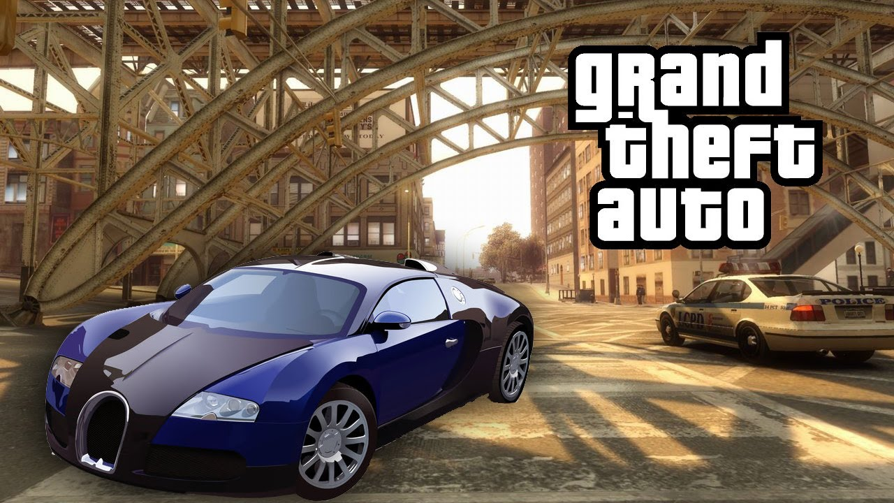 grand theft auto iv bugatti veyron mod youtube. Black Bedroom Furniture Sets. Home Design Ideas
