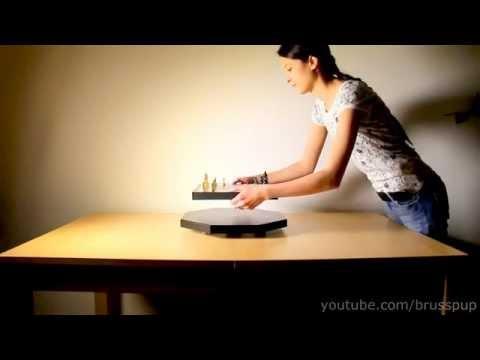 Fantastico Dispositivo De levitación magnética!