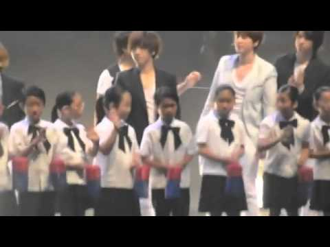 [fancam] 110604 Super Junior - Heal the World @ Kimchi event in Indonesia