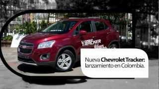 NUEVA CHEVROLET TRACKER: Lanzamiento En Colombia.
