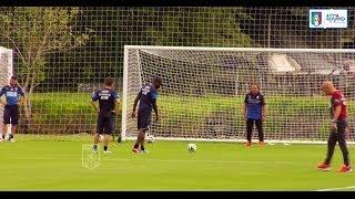 Il rigore di Balotelli, primo allenamento azzurro in Brasile - Mondiali 2014