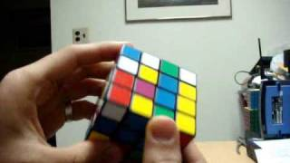 How To Solve A 4x4x4 Rubik's Cube Part 1 Centers