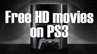How To Download FREE HD Movies On PS3 [HD]