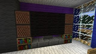 How To Make A Working TV In Minecraft 1.8! NO MODS!
