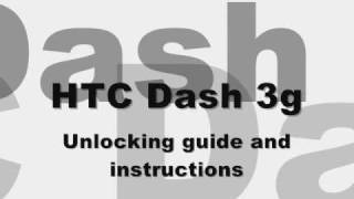 How To Unlock T-Mobile HTC Dash 3G, Free SIM Card GSM