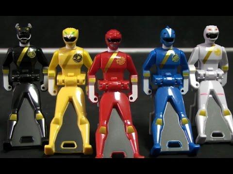 đồ chơi siêu nhân gao Power Rangers Wild Force Toys 파워레인저 캡틴포스 정글포스 레인저키 장난감