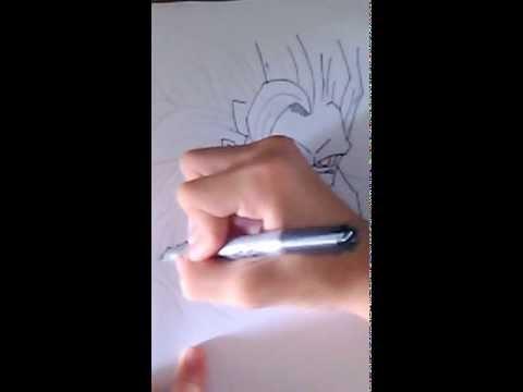 Vẽ về Songoku cấp 3