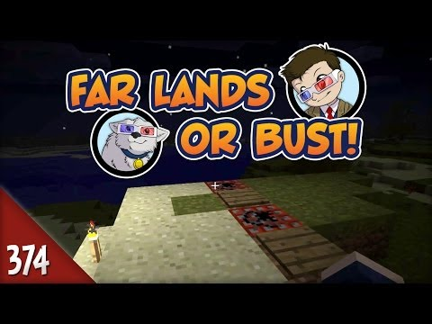 Minecraft Far Lands or Bust - #374 - TNT Cannon!