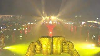 آلاف الصينيين فى افتتاح مهرجان تشينغداو