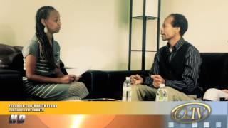 OddaTV Host Margituu Argoo Interviews Oromo Recording Artist Caalaa Carcar