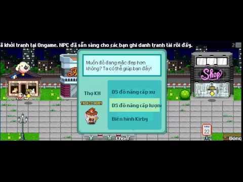 Hướng dẫn đập item cánh baby blue lên cánh blue vững vàng game avatar cùng tomato87 - Tập 1 :v