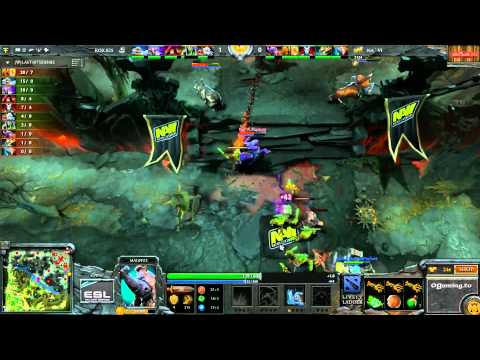Tournoi DotA 2 EMS One ESL du 21/04/2013 - NaVi vs RoX.KIS - Game 1