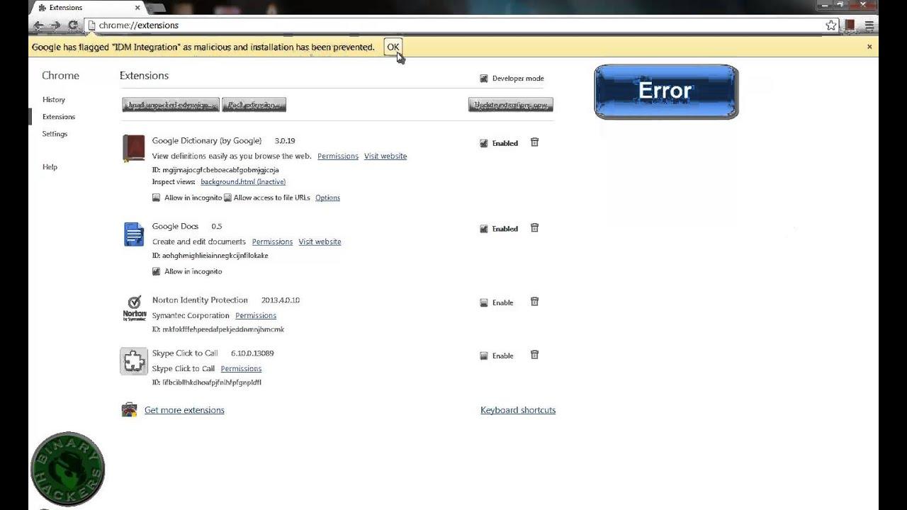 Idm Plugin For Chrome