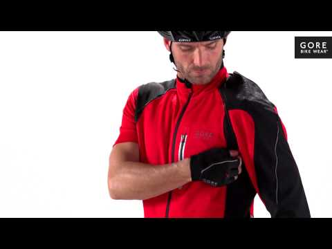 ALP-X 2.0 WINDSTOPPER® Soft Shell Zip-Off Jacket by GORE BIKE WEAR®