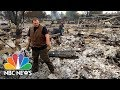 """California Wildfires: """"It Takes Your Life Away"""" Residents Return To Nothing 