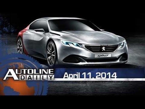 Peugeot Reveals Exalt Concept - Autoline Daily 1354