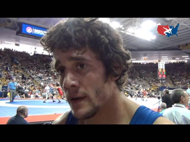 Pete Gounaridis after semi-final win