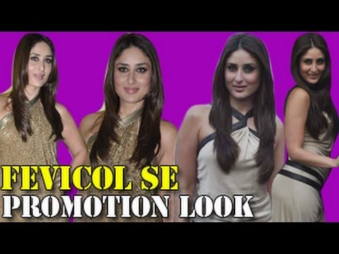 Kareena Kapoor's FEVICOL SE PROMOTION LOOK OF DABANGG 2