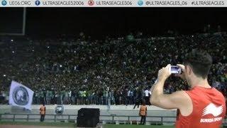 Curva Sud Magana : Ambiance & Feux d'artifice - Raja vs OGC Nice (Ultras Eagles)