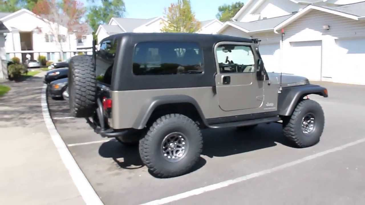 2006 Jeep Wrangler Rubicon Unlimited Lj Youtube
