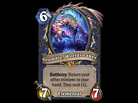 Hearthstone : Opened Legendary Grumble, WorldShaker