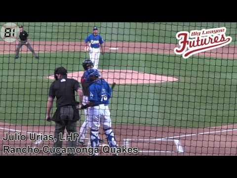 Julio Urias Prospect Video, LHP, Rancho Cucamonga Quakes #dodgers