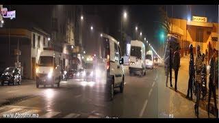 فيديو حصـــري:لحظة خروج رفاق الزفزافي من محكمة الاستئناف و عودتهم إلى سجن عكاشة..هاكيفاش رجعوهم |