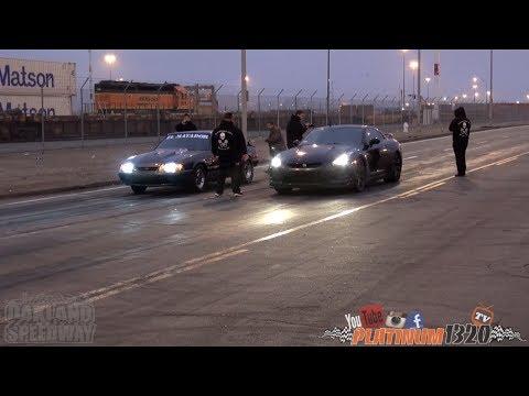 LSX NITROUS MUSTANG vs 554HP NISSAN GT-R