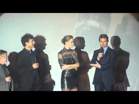 The Edge of tomorrow Paris premiere 28.05.2014 speech Doug Liman, Emily Blunt, Tom Cruise