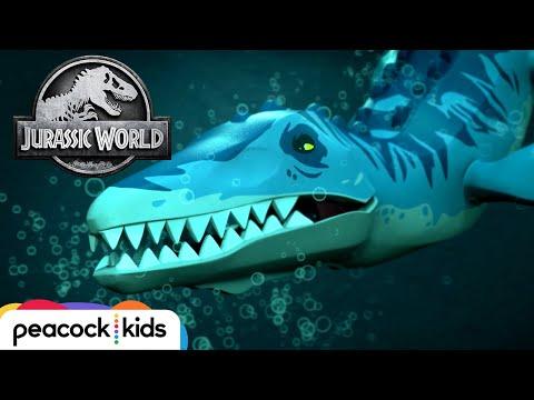 Underwater Monster Rescue | LEGO JURASSIC WORLD: LEGEND OF ISLA NUBLAR