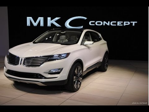 2014 Lincoln MKC concept at the Detroit Auto Show - The Driver