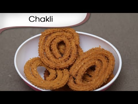 Chakli - Diwali Special Snack Recipe - Indian Tea Time Savory Snacks - Crunchy Fast Food Recipe