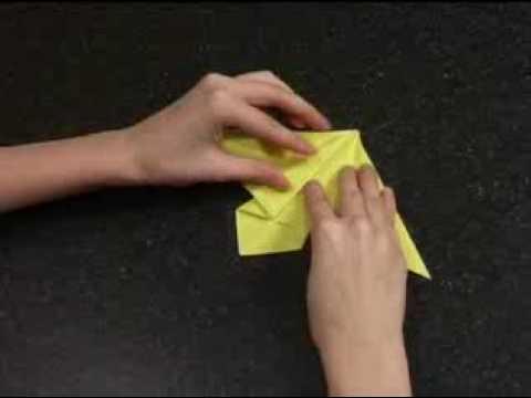 Как сделать оригами – «Ангел»