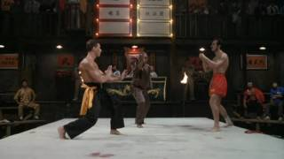 Blood Sport Semi Final (Van Damme VS. Muay Thai Master