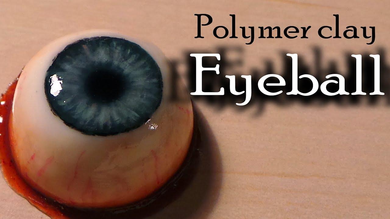Как сделать глаза полимерной глины