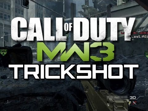 MW3 New Trickshot - The High Five Trickshot (Funny MW3 Trickshot Tutorial Parody)